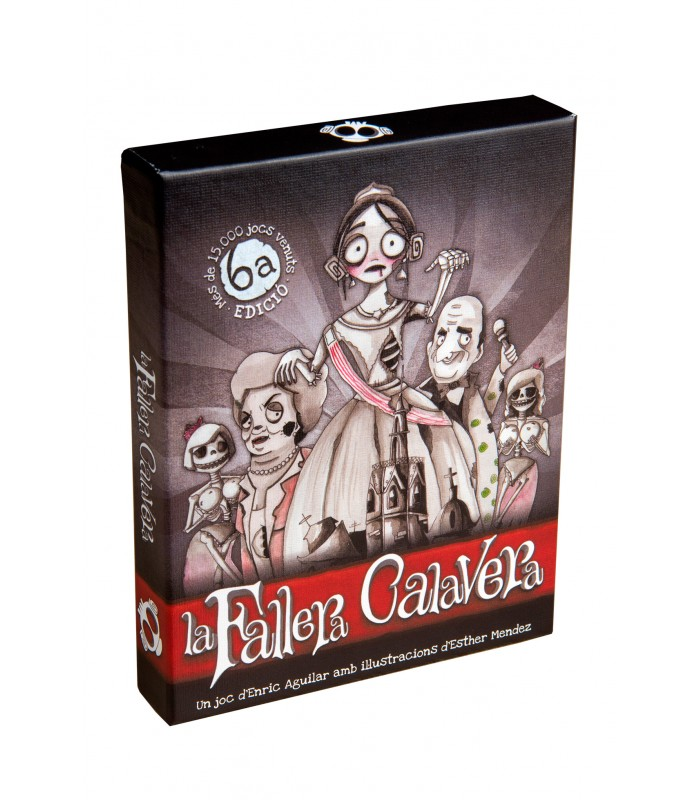 La fallera Calavera - Juego de cartas