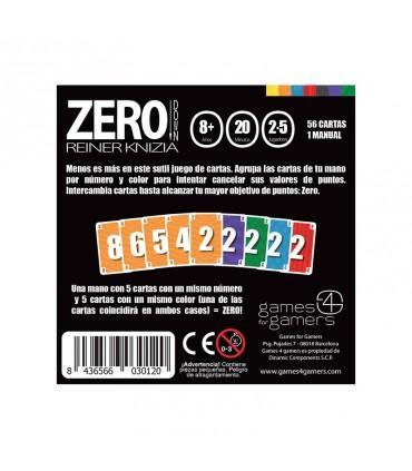 ZERO - Juego de cartas