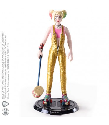 Figura articulable Harley Quinn - DC