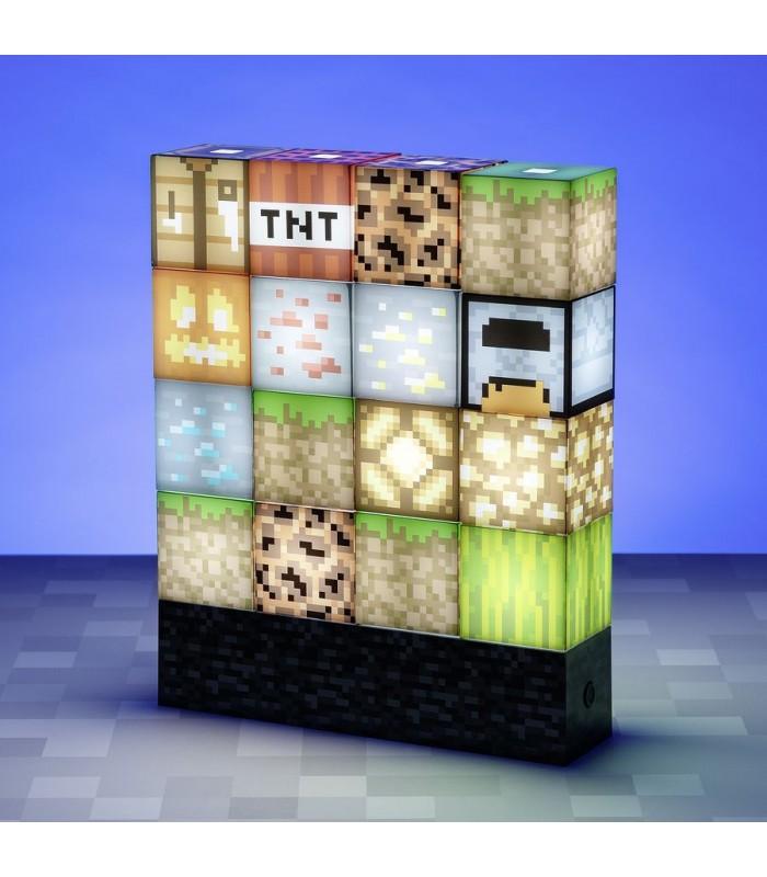 Lámpara de bloques - Minecraft