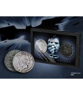 "Monedas Harvey Dent ""Dos Caras"" Set de 2 en Expositor"