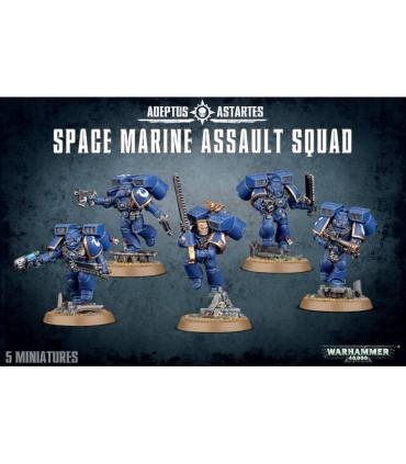 Escuadra de Asaltop (Assault Squad) de los Marines Espaciales (Space Marines) en cuernavilla.com al mejor precio