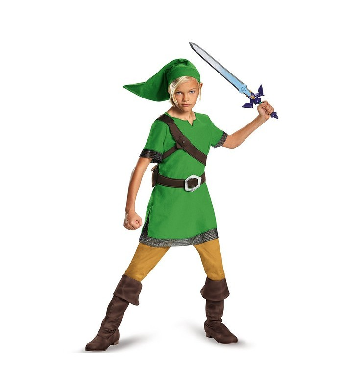 Disfraz de niño de Link - Legend of Zelda
