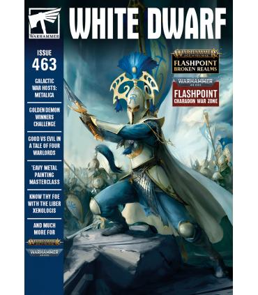 Revista White Dwarf 463 Abril 2021 (En Inglés) - Games Workshop
