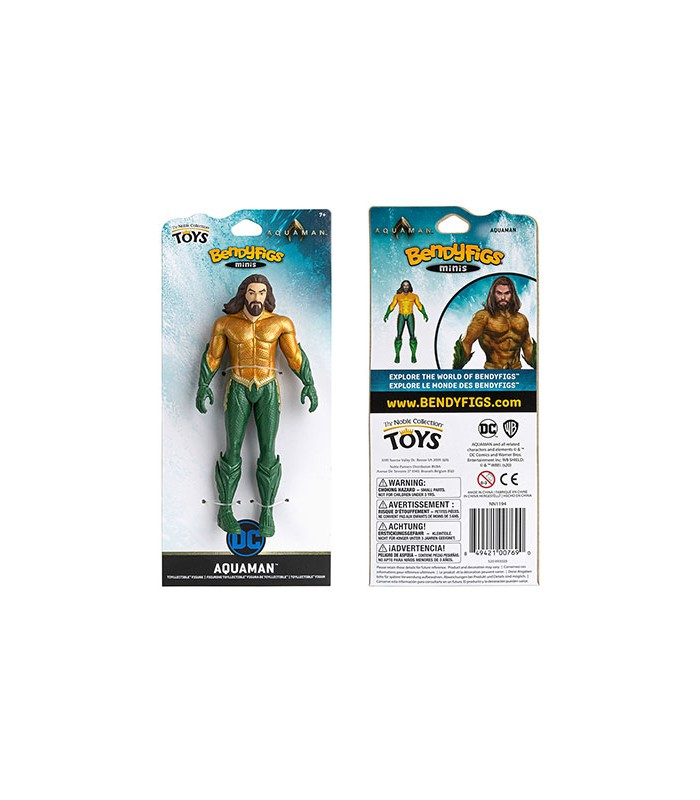 Mini Figura articulable Aquaman - DC