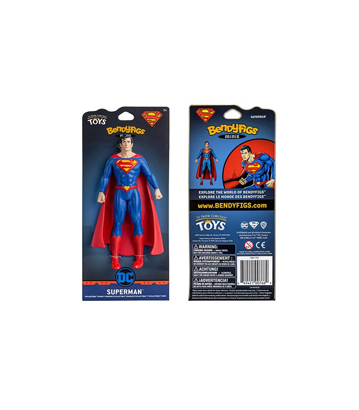 Mini Figura articulable Superman - DC