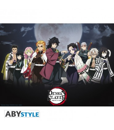 Poster de los Pilares - Kimetsu no Yaiba (Demon Slayer)