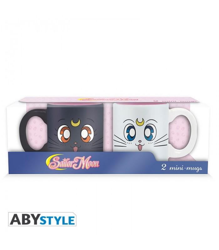 Pack de tazas Luna&Artemis - Sailor Moon