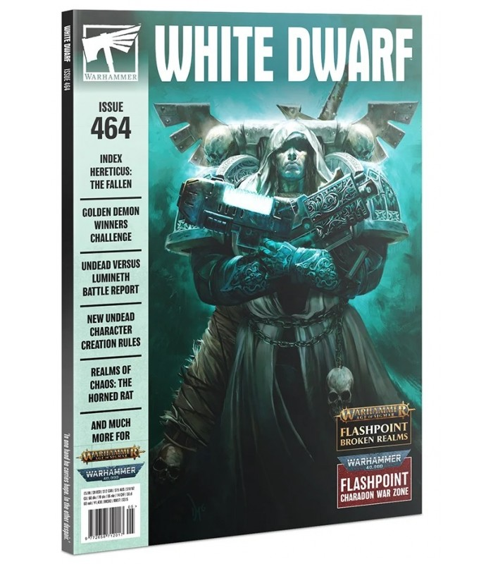 Revista White Dwarf 464 Mayo 2021 (En Inglés) - Games Workshop