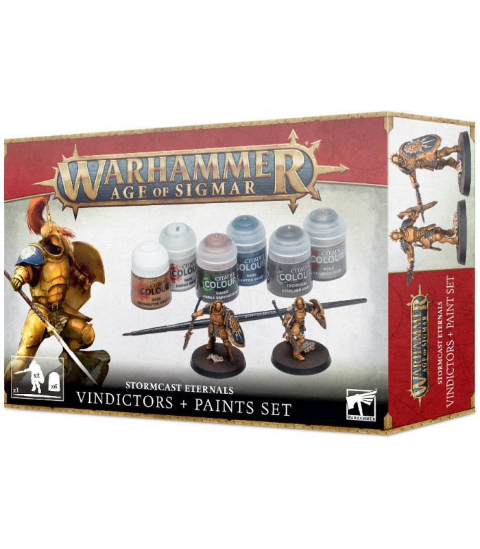 Stormcast Eternals + Paint Set - Warhammer Age of Sigmar