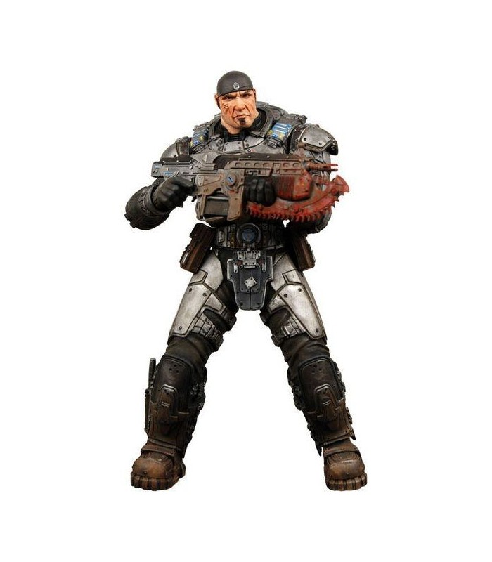 Figura Marcus Fenix Gears of War Escuadrón Delta 18cms