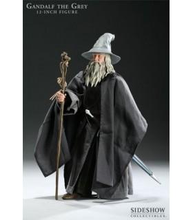 Figura Gandalf El Gris 30cm c/Accesorios Sideshow Collectibles