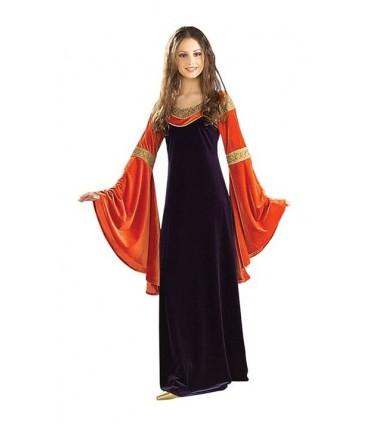 Vestido Azul y Encarnado de Arwen - Deluxe