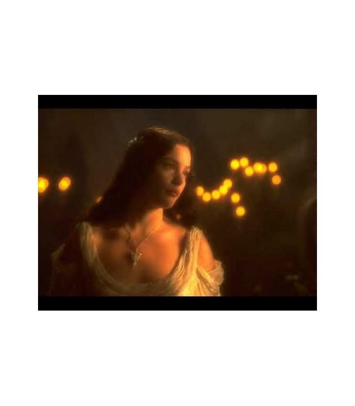 """Colgante de Arwen """"Estrella del Atardecer"""" (Rubies)"""