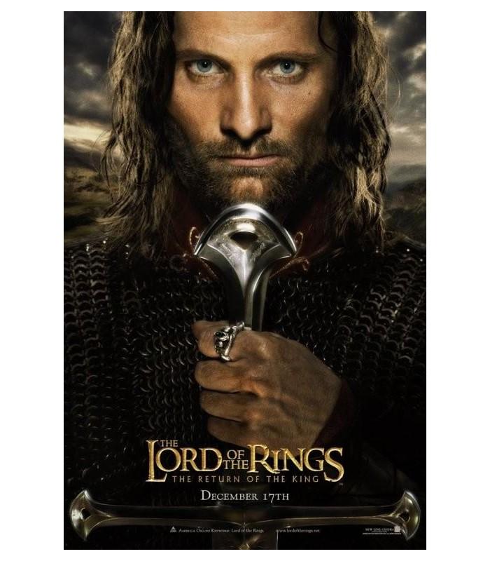 """Anillo de Aragorn, """"Barahir"""" (Noble Collection - Joya)"""