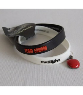 Pulseras Edward Twilight (Crepúsculo) Set de 2 Brazaletes