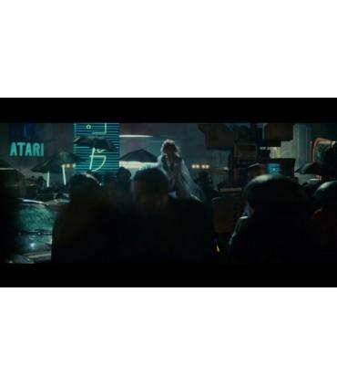 Paraguas LED Iluminado en Rojo (Luz Roja) - Blade Runner