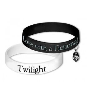 Pulseras Twilight Crepúsculo Emblema Cullen Set de 2 Brazaletes