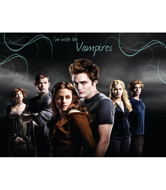 Pegatina Edward Cullen y Bella Swan Sticker Crepúsculo Twilight