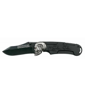 Cuchillo Terminator Salvation 21cms Plegable - Negro