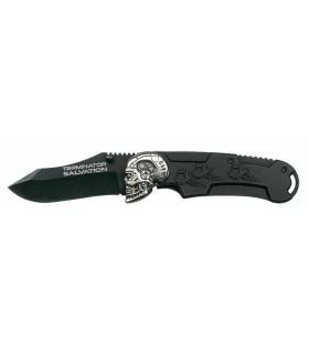 Cuchillo Terminator Salvation 21cms Plegable - Negro