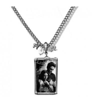 Colgante Edward y Bella con Foto Twilight (Crepúsculo)