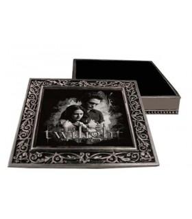 Caja de Metal Joyero Metálico Edward y Bella Crepúsculo Twilight