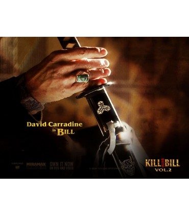 "Katana Kill Bill ""BILL"" (David Carradine) Version Funcional"
