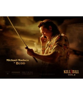 "Katana Kill Bill ""Budd"" (Michael Madsen) Version Funcional"