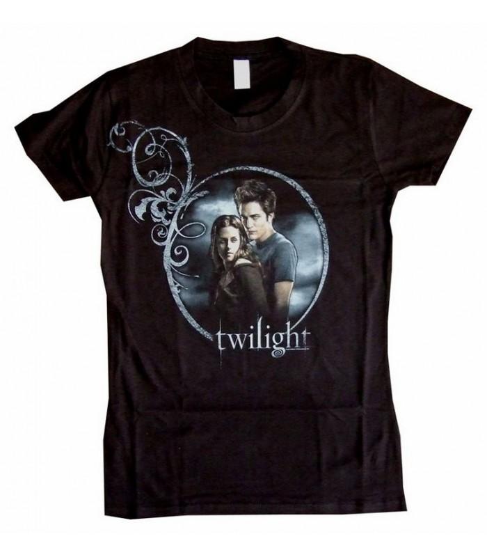 """Camiseta Edward y Bella """"Círculo"""" Crepúsculo (Twilight) Talla L"""