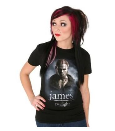 Camiseta James Crepúsculo (Twilight) para Chica, Talla L