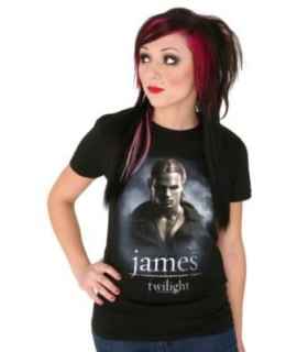 Camiseta James Crepúsculo (Twilight) para Chica, Talla S