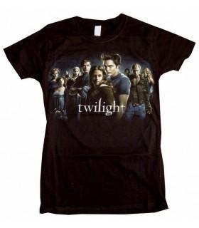 "Camiseta ""Reparto"" de Crepúsculo (Twilight) para Chica, Talla L"