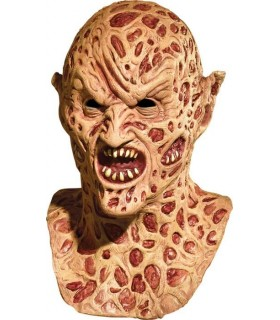 Máscara Freddy Krueger Demoníaco Látex con Dientes