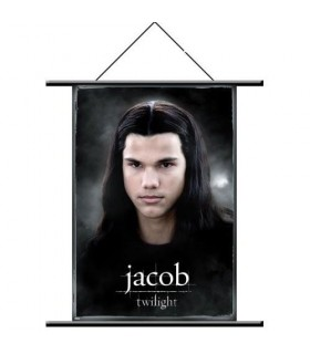 Poster de Tela Jacob Black Estandarte Twilight (Crepúsculo)