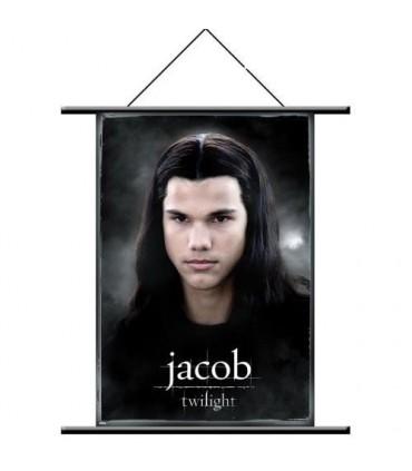 Poster de Tela Jacob Black Estandarte Twilight (Crepúsculo)