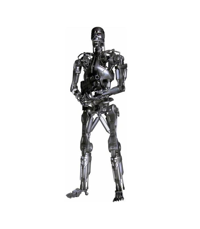 Figura T-800 Endoesqueleto Terminator 2 45cms c/luz Neca
