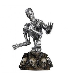Busto T-700 T-RIP 15cms Terminator Salvation