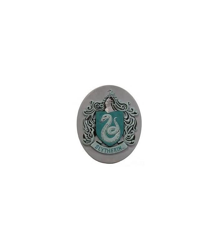 Imán Slytherin Ovalado Emblema de la Casa de Draco Malfoy