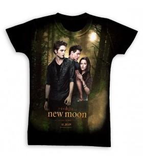 Camiseta Luna Nueva Chica New Moon Twilight Crepúsculo, Talla M