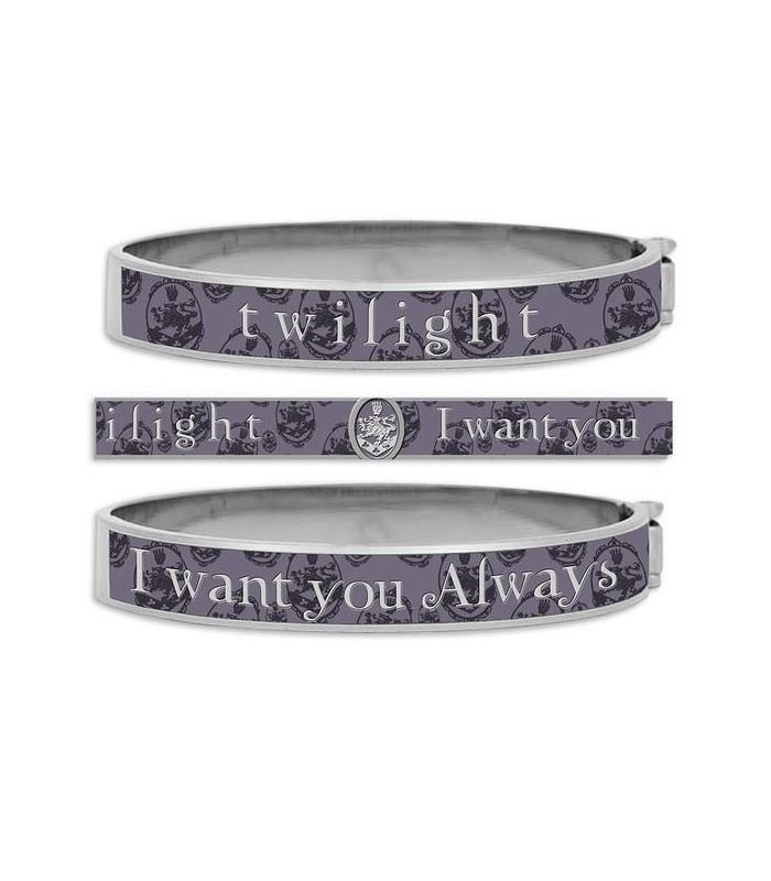 "Pulsera ""I Want You Always"" Luna Nueva (New Moon) Crepúsculo"