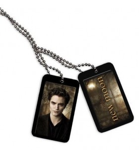 Colgante Chapas Edward Cullen Luna Nueva (New Moon) Crepúsculo
