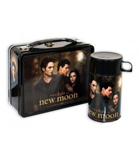 Set Termo Fiambrera Bella, Edward y Jacob Luna Nueva New Moon