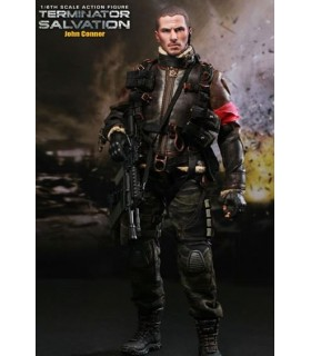 Figura John Connor Hot Toys 30cm Terminator Salvation Sideshow