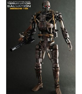 Figura T-600 Hot Toys Endoesqueleto 35cm Terminator Salvation