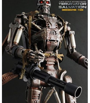 Figura T-600 Hot Toys Endoesqueleto 35cm Terminator Salvation