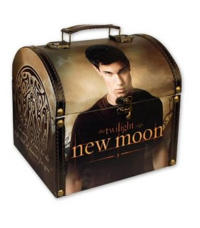 Mini Baúl Vintage Jacob Black Luna Nueva New Moon Crepúsculo