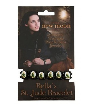 Pulsera Bella San Judas Luna Nueva New Moon Crepúsculo Twilight