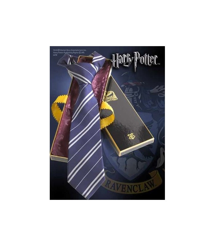 Corbata Ravenclaw 100% Seda (Noble Collection)