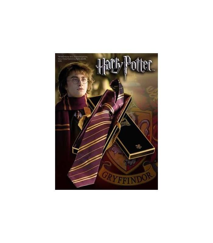 Corbata Gryffindor 100% Seda (Noble Collection)